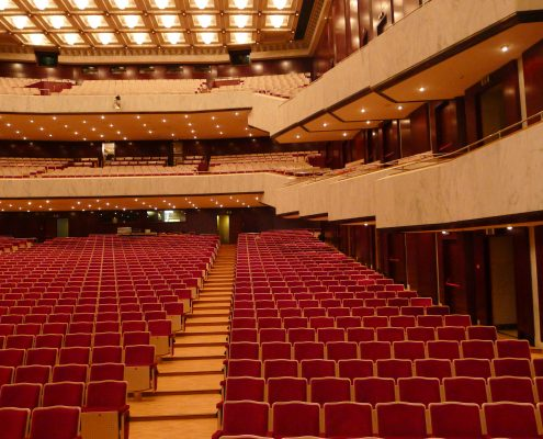Seating concert hall 2