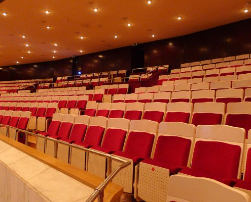 Seating concert hall 1