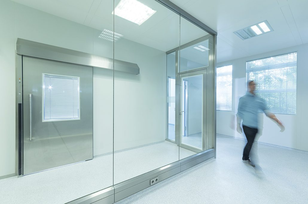 flexible \u0026 easily displacable clean room walls g h reinraumtechnikall glass partition type gg 3