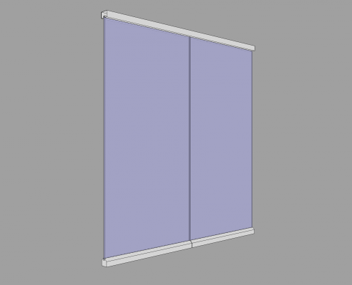 All-Glass Partition type GG view